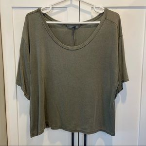 American Eagle Green Oversized Shirt